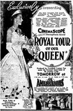 There were three rival documentary films about the Queen's 1954 Australian tour and this was one of them.