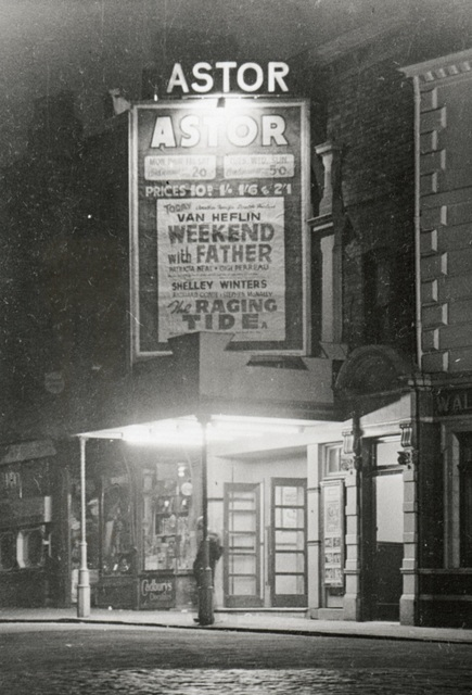 Astor cinema in 1952