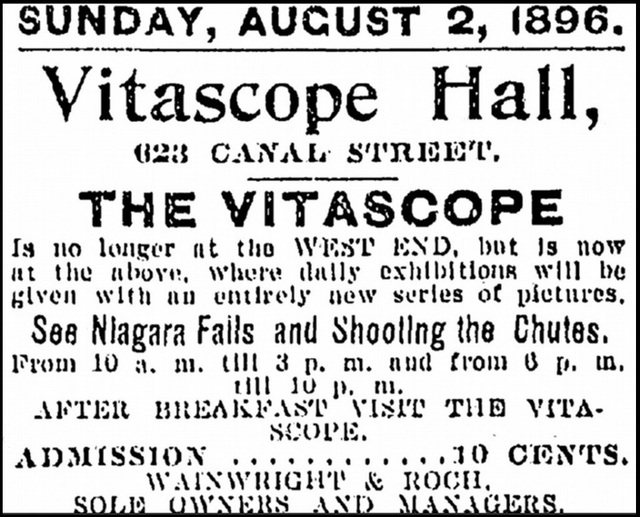 Vitascope Hall in New Orleans, LA - Cinema Treasures