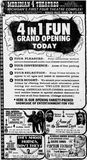 June 11th, 1970 grand opening ad