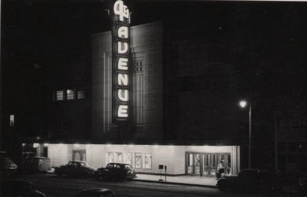 4th Avenue Theatre exterior around the 1940's