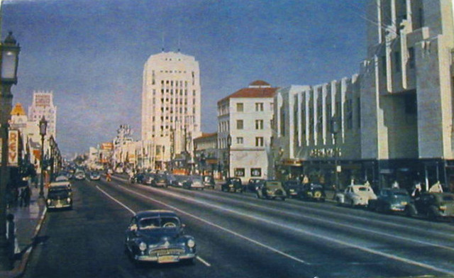 Miracle Mile area (El Rey Theatre on far left of picture)