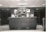 Crabtree Valley Twin Theatres lobby entrance and boxoffice 1971