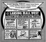 July 20th, 1984 grand opening ad
