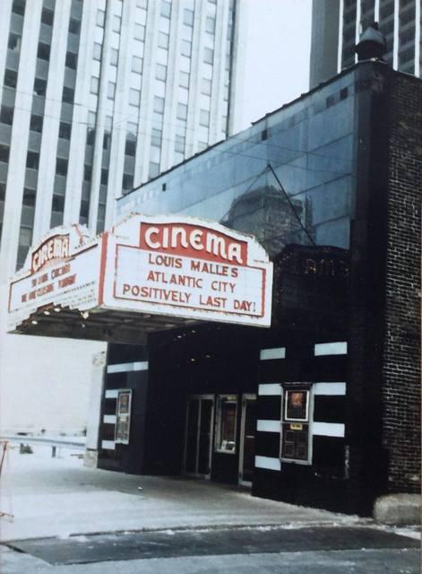 The Last Day of the Cinema Theatre.