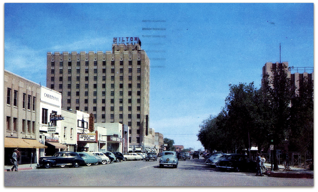 Lyric Theatre / Lubbock TX 1949