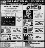 November 17th, 1995 grand opening ad