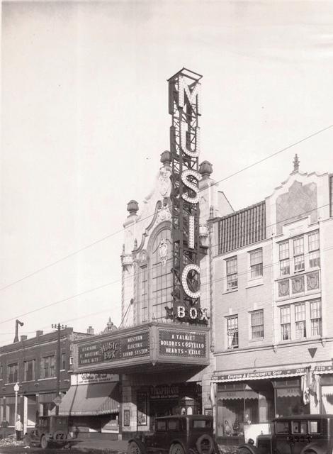 Music Box Theatre;  1929.