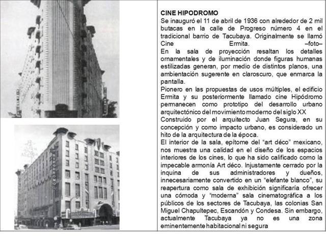 Teatro Lumiere Hipodromo Condesa