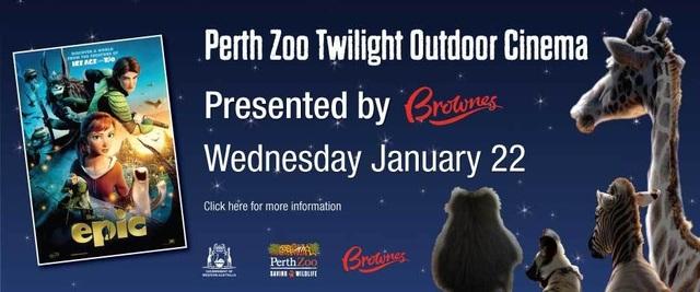 Perth Zoo Twilight Outdoor Cinema