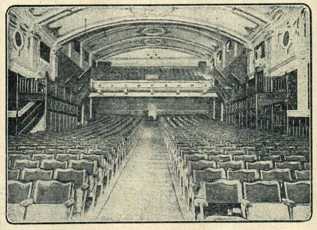 Auditorium from the stage.