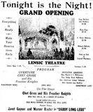 June 24th, 1931 grand opening ad