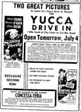 July 3rd, 1950 grand opening ad