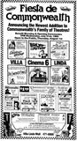 July 31st, 1985 grand opening ad as Cinema 6