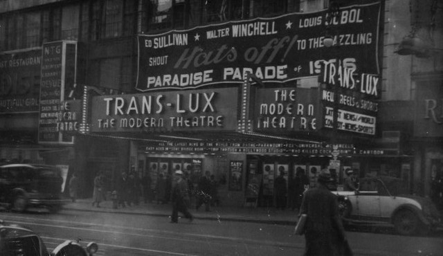 Trans-Lux Modern Theatre exterior