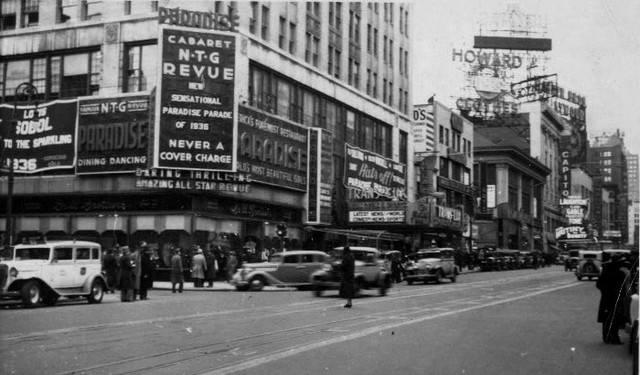 Trans-Lux Modern Theatre (1935) exterior