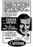 MR DEEDS GOES TO TOWN at Perth's Capitol, November 1936