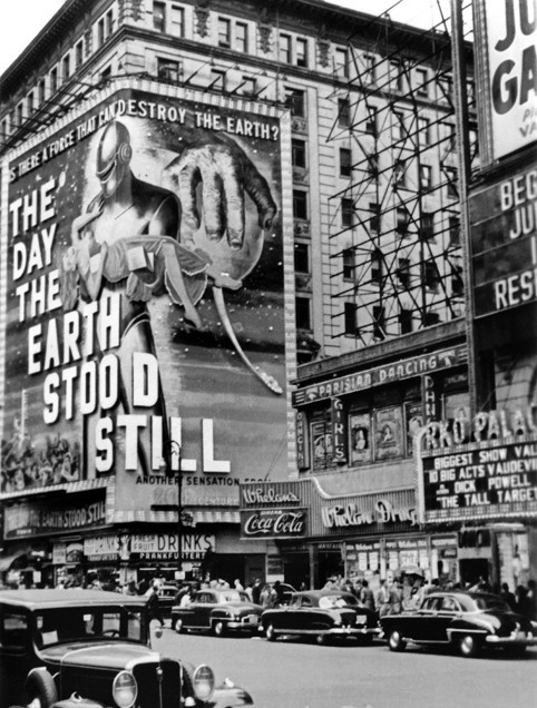"Mayfair Theatre ""The Day the Earth Stood Still"" (1951) engagement"