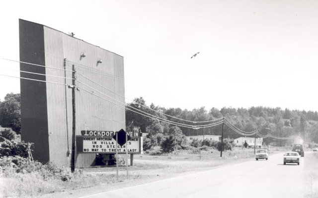 Lockport Drive-In Screen 1968