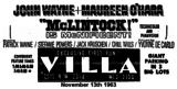 Villa Theater  2515 NW 23rd Street, Oklahoma City, OK...1963 AD.