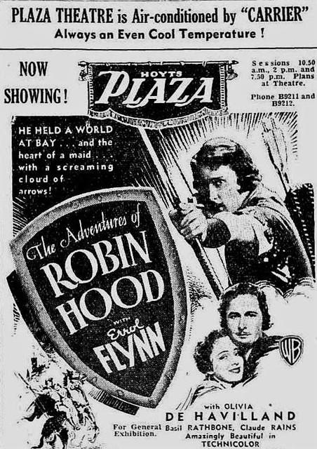 ROBIN HOOD at the Plaza, September 1938
