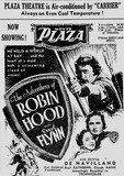ROBIN HOOD at the Plaza, September 1938