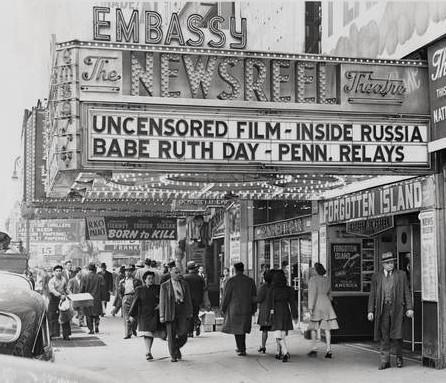 Embassy Newsreel Theatre exterior