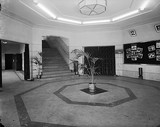 Regal Theatre foyer in the 1940s