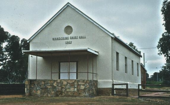 Wandering Shire Hall