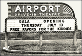 Airport Drive-In ... Paris Texas