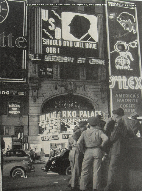 "RKO Palace Theatre ""Moon Over Miami"" (1941) engagement"