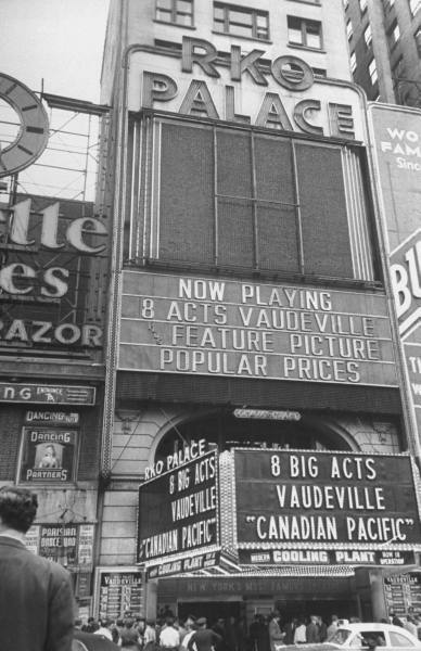 """RKO Palace Theatre """"Canadian Pacific"""" (1949) engagement"""
