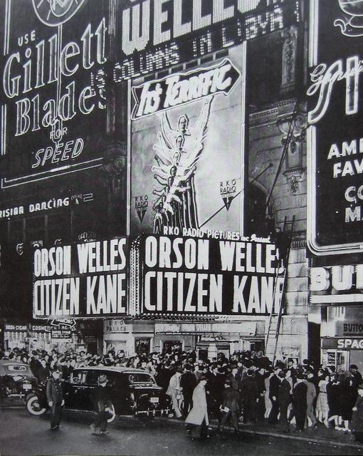 "RKO Palace Theatre ""Citizen Kane"" (1941) engagement"