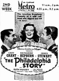 THE PHILADELPHIA STORY at Perth's Metro, May 1942