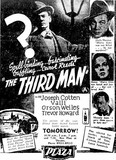 THE THIRD MAN at Perth's Plaza,December 1953