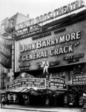 "Warners' Theatre ""General Crack"" (1930) engagement"