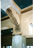 Stenciled arch