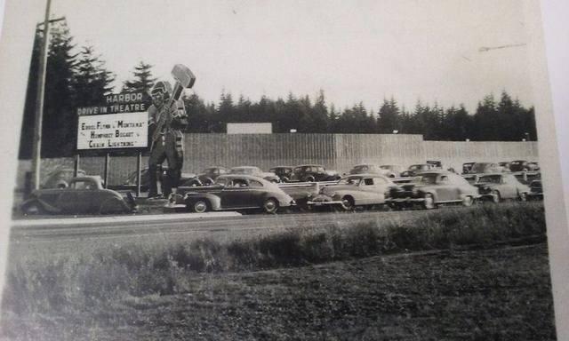 Harbor Drive In circa 1949