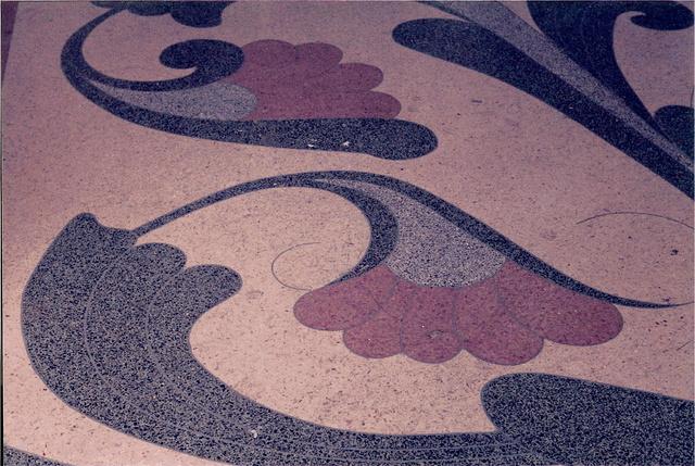 Terrazzo detail