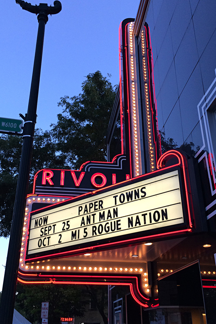 Rivoli Theatre, Cedarburg, WI