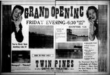March 22nd, 1956 grand opening ad