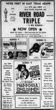 September 21st, 1973 grand opening ad as a 3-plex