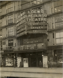 Loew's Lincoln Square Theatre in New York , 1910.