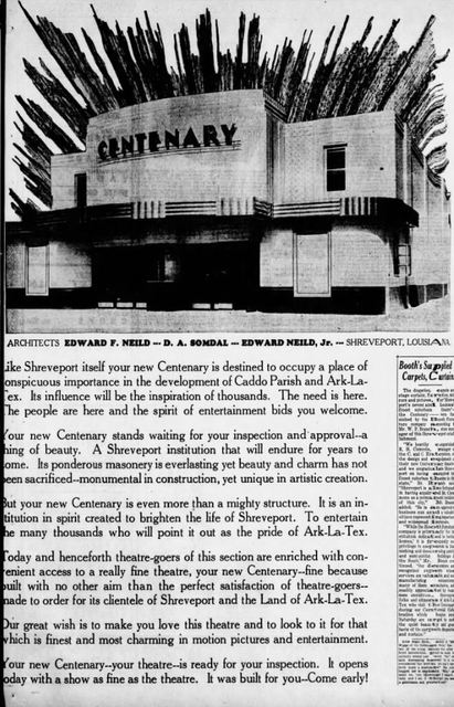 June 27th, 1935 grand opening ad