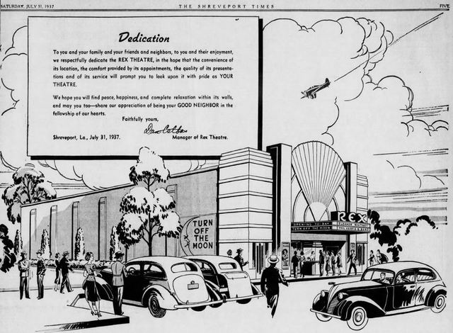 July 31st, 1937 grand opening ad