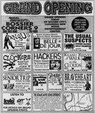 September 15th, 1995 grand opening ad