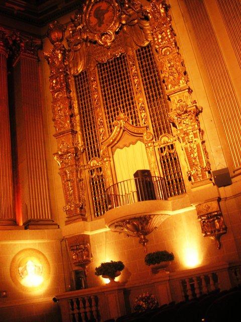 Organ grille
