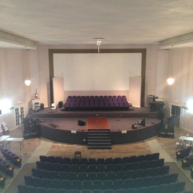 Inside Porte Theater 2014