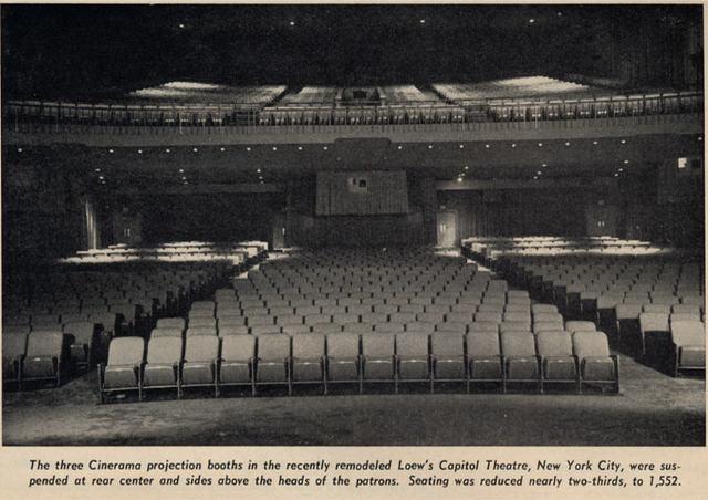 Loew's Capitol Theatre auditorium