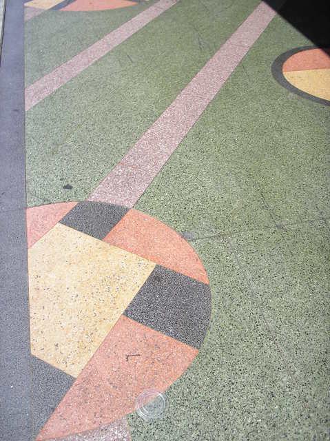 Alameda terrazzo detail
